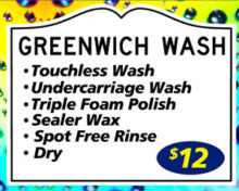 BELCHERTOWN Touchless Greenwich Wash