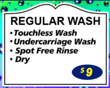 WARE Touchless Regular Wash